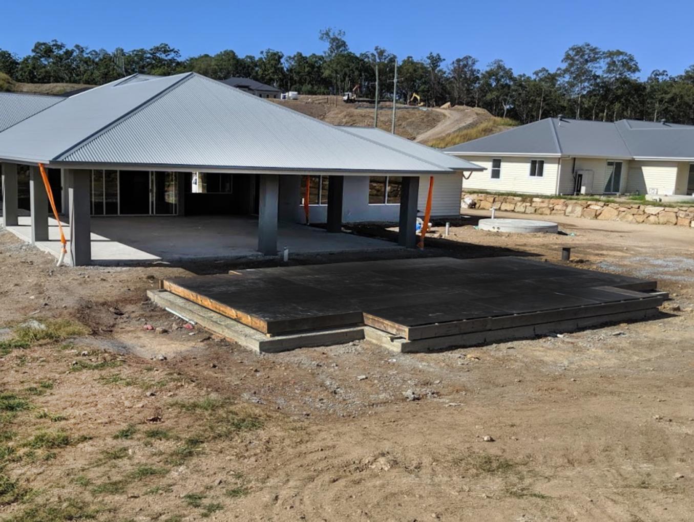 Pool void cover for GJ Gardner Homes Build - Montego Hills Estate, Northern Gold Coast