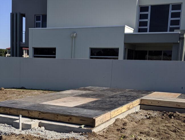Pool Construction Cover for L&V Pools - Carrara